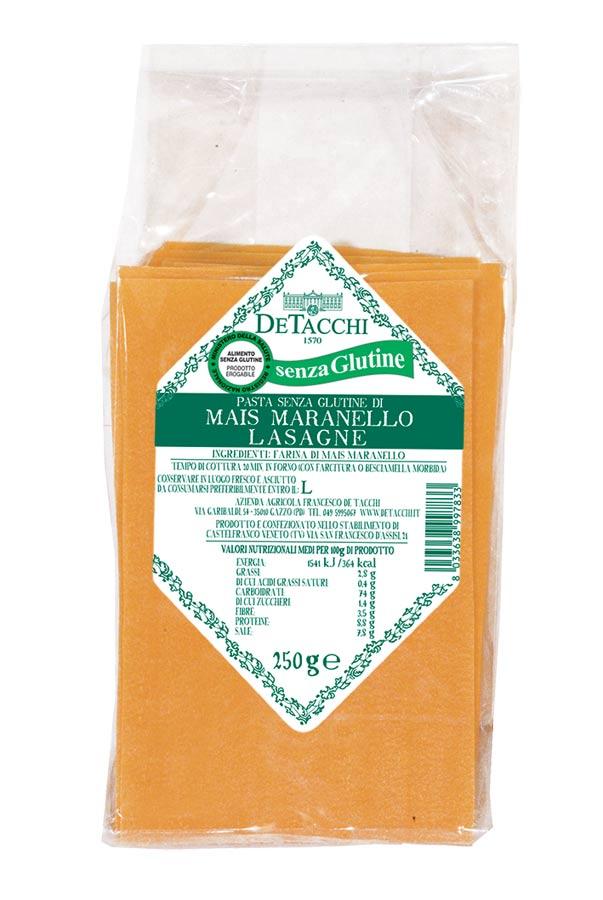 Lasagne di Mais Maranello senza Glutine