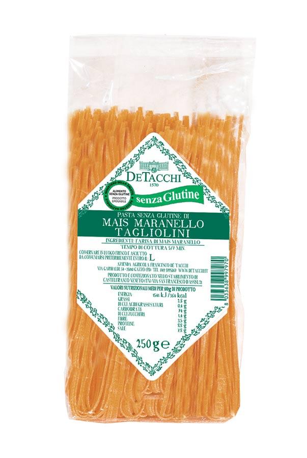 Tagliolini di Mais Maranello senza Glutine