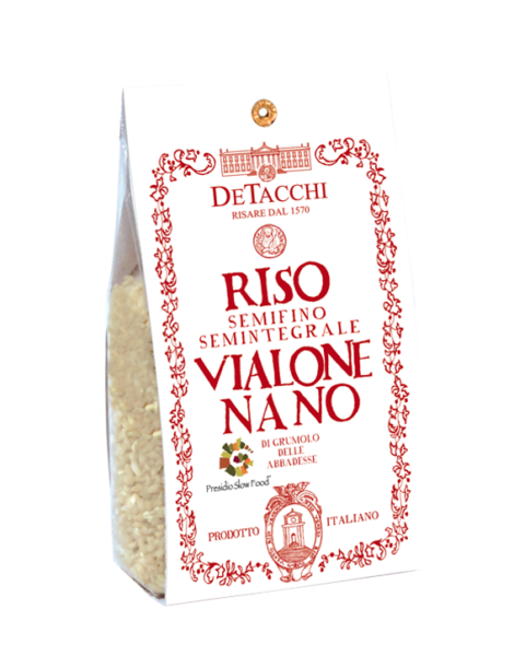 Riso Vialone Nano PRESIDIO SLOW FOOD Semintegrale