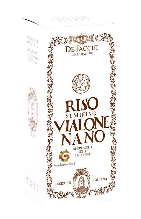 Riso Vialone Nano PRESIDIO SLOW FOOD Tradizionale 1 kg